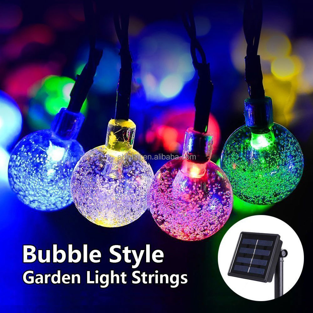 led solar christmas ball light led solar christmas ball light suppliers and manufacturers at alibabacom - Solar Powered Outdoor Christmas Lights