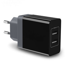 New design USB universal charger,black/white glossy USB mobile phone charger,European version USB CE charger