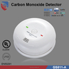 UL approval GS811-A New design DC 9V CO Alarm Carbon Monoxide Detector