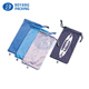 New product Soft drawstring sunglasses bag microfiber eyeglass spectacles pouch