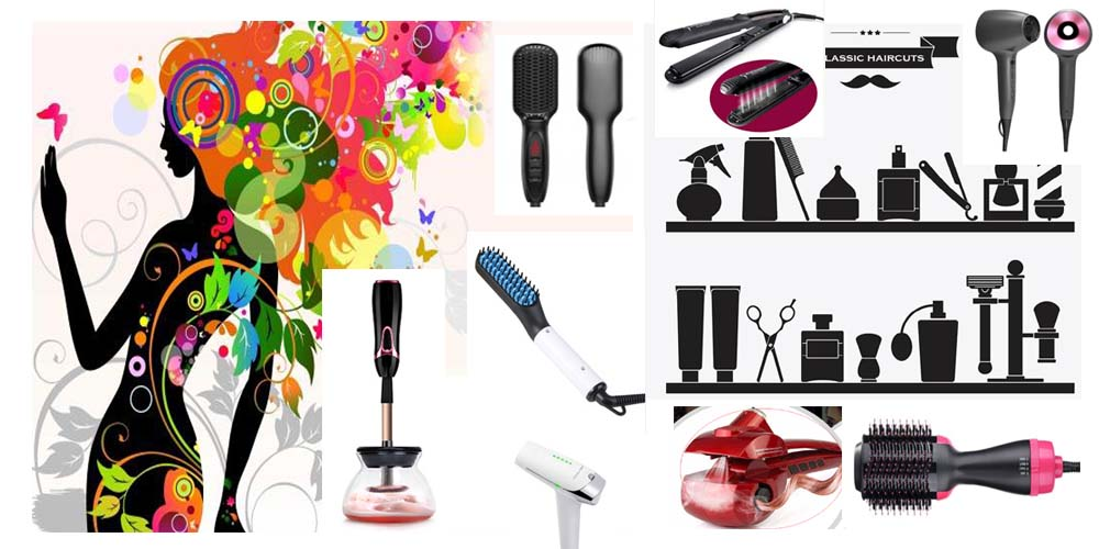 1.1 inch barrel Automatic Hair Curling Iron Automatic Instant Curler Titanium Ceramic Wand Rotating Wave  iron