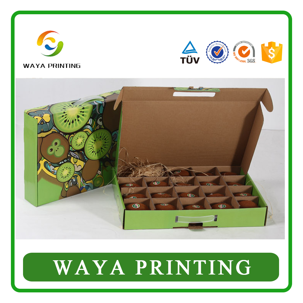 Manufacturer wholesale folding paper fruit packing boxes