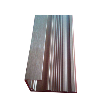 Good source of materials aluminum extrusion wood grain profile sliding window exported to India