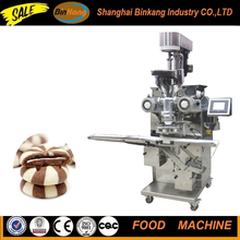 Stainless steel double color cored filling cookie machine automatic small rheon encrusting machine