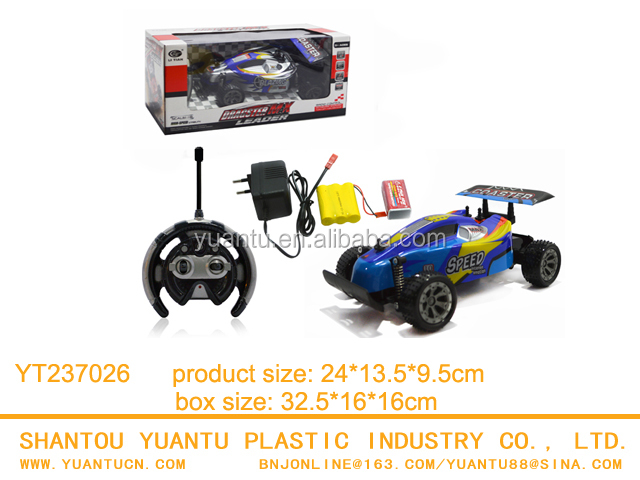 Topspeed 1:18 Remote Control Car Plastic 4 Channel Radio Control Karting Car Toy