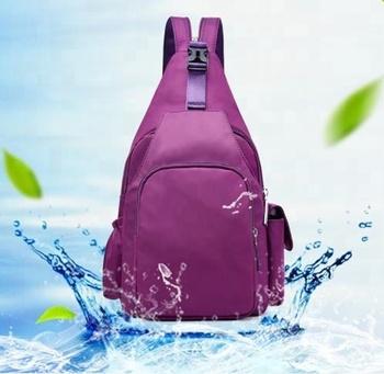 3725a0b01cf3 multi functional nylon sling mini bag chest   sport shoulder crossby backpack  bag
