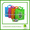 wholesales customized logo printed waterproof foldable shopping bag