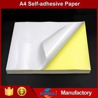 Cheap promotional self adhesive paper letter size