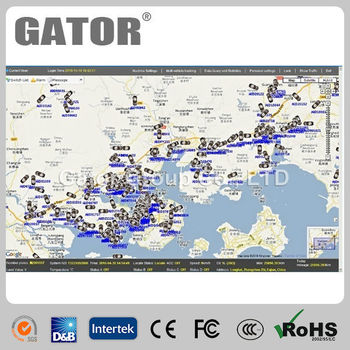 GPS GPRS vehicle tracking system to integrate with a transport management software