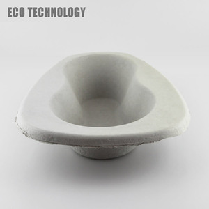 Molded Pulp Bedpan Liner for Medical Supplies