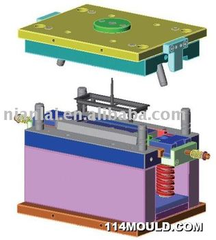 three plates plastic injection mould plstic mould