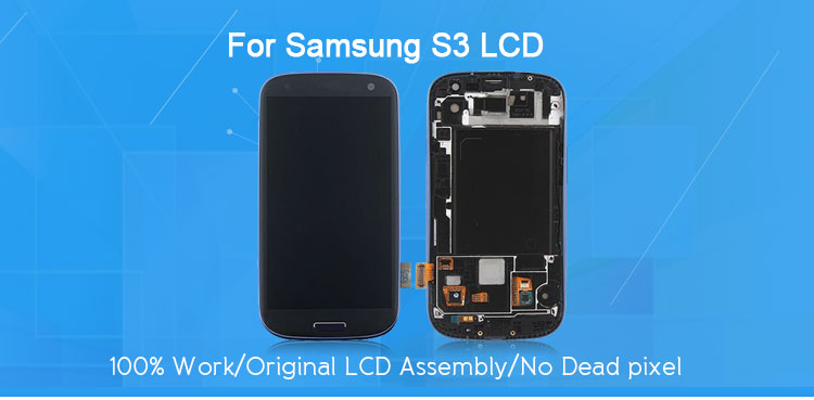 For samsung s3 screen replacement service pack, for samsung s3 lcd replacement