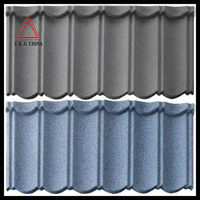 Africa colorful stone coated metal roofing tiles