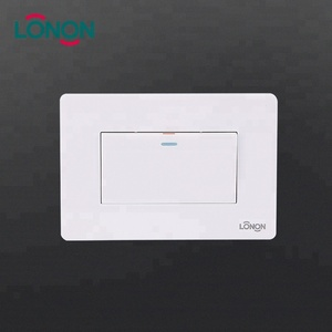 High quality wholesale dubai electric One gang one way wall switch cover plates