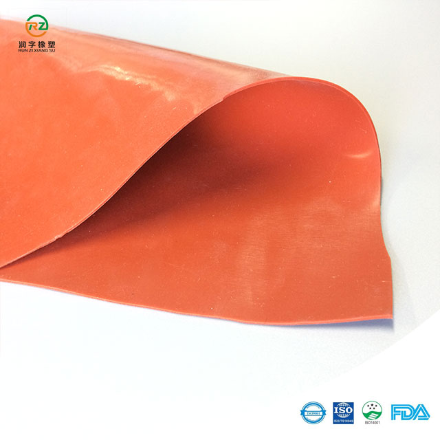 1mm red silicone rubber sheet rolls