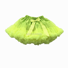 China Manufacturer Clothing Baby Tutu Skirts Wholesale Kid Chiffon Pettiskirts