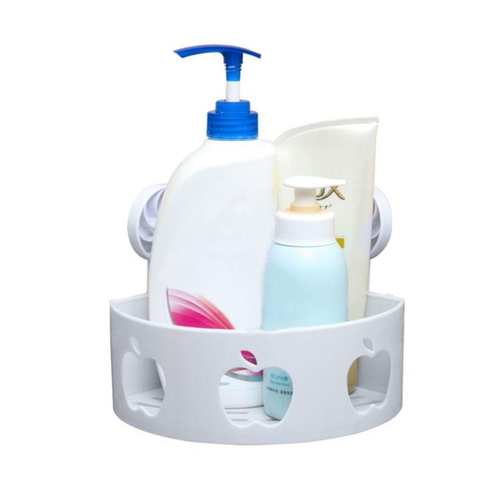 Yves Bathroom Shower Corner Caddy for Shampoo, Conditioner Bodywash Bottles, Holder for Bathroom Item and Cosmetic Products (Corner Caddy)