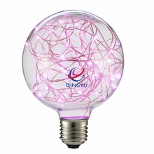 G95 Vintage Fee Rosa Led-<span class=keywords><strong>lampe</strong></span> String Licht Filament Starry Birne Decor <span class=keywords><strong>Lampe</strong></span> für Dekorative Beleuchtung