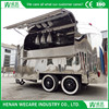 The Most Popular High Quality Round Food Trailer Made in China