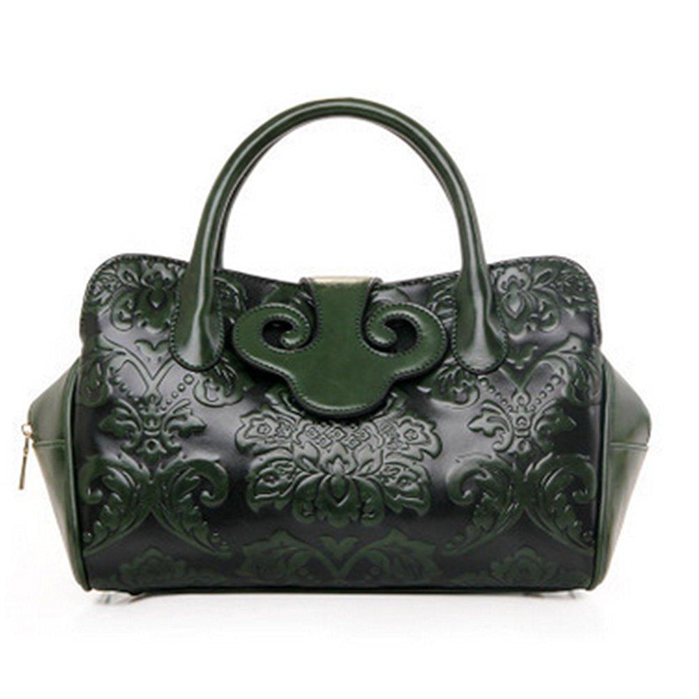 Get Quotations · Fashion Chinese National Style Handbag Vintage PU Material  Handbag Ladies Shoulder Bag Printing Flowers Crossbody Bag a6783d424d344