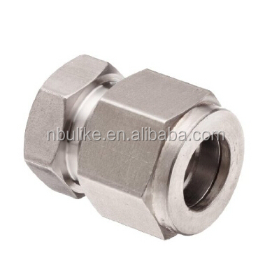 SS 316 compression tube fitting cap for closing