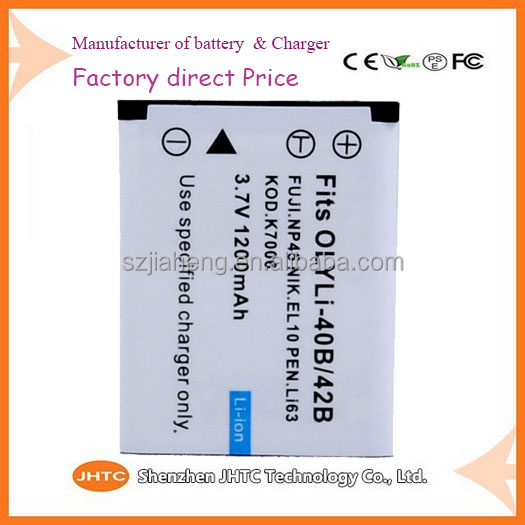 High quality ENEL10 EN-EL10 KLIC7006 KLIC-7006 DLI63 LI-42B Li-40B LI40B LI42B digital Battery