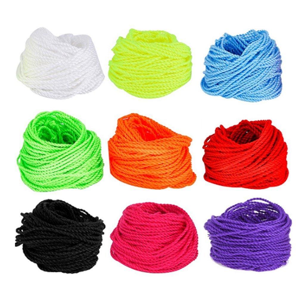 BoNaYuanDa 90 Pieces Polyester Yoyo String Pro-poly String 9 Colors