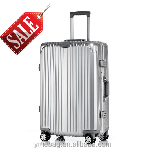 30inch Branded aluminum frame trolley luggage with big capacity