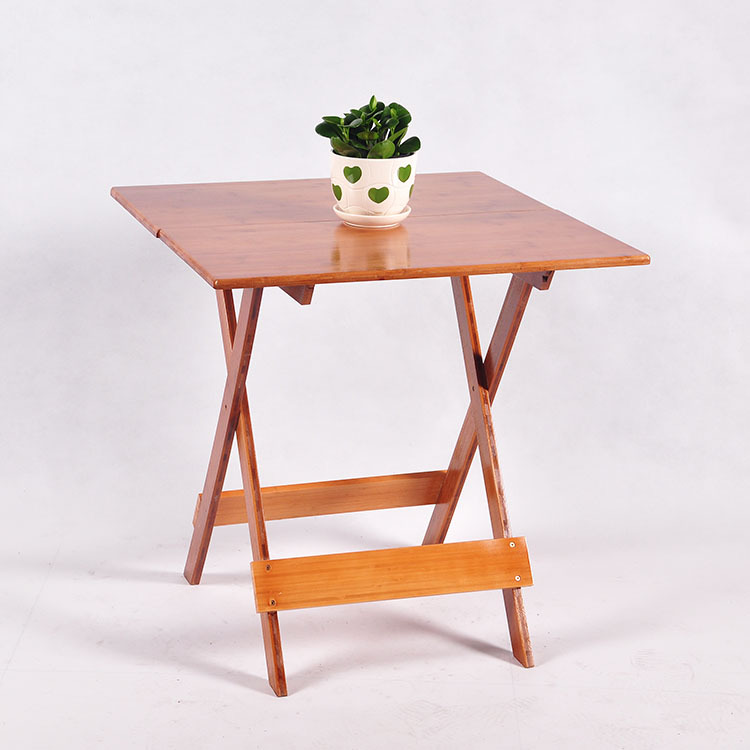 modern style foldable bamboo table nature life outdoor <strong>folding</strong> Picnic table