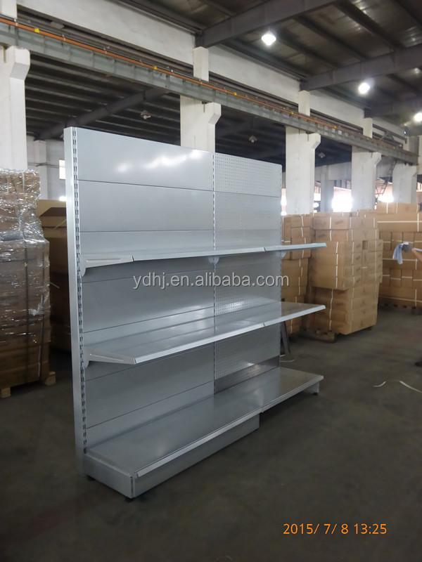 Best Selling Single Sided Wall Unit Supermarket Gondola Shelf ...