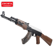 Zhorya newest style plastic battery operated gel soft crystal water bullet gun