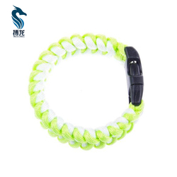 survival paracord bracelet 550 for camping hiking outdoor tool for women or kids