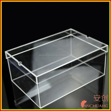 transparent plastic shoe storage boxes