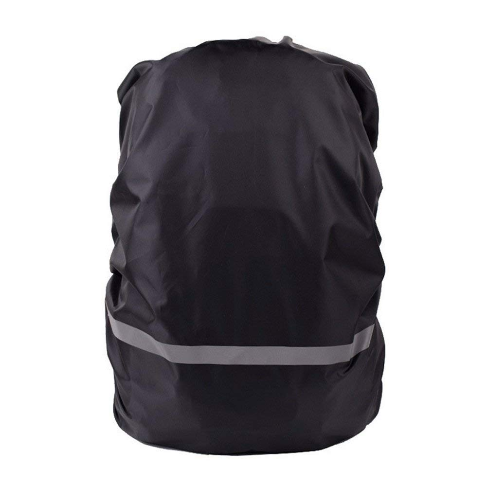ZCL Reflective Rain Cover Waterproof for 25L-30L Outdoor Hiking Camping Backpack, Tear-Resist, Rainproof, Lightweight
