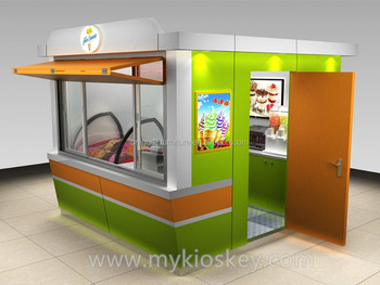 Ce approved outdoor food kiosk outdoor food kiosk design for Garden kiosk designs