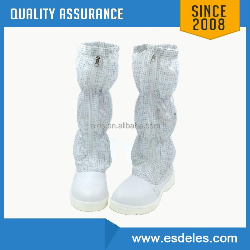 PVC/PU Material Cleanroom Anti static shoes