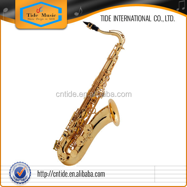 tenor saxophone, superb resonance, fast key response, professional tenor saxophone