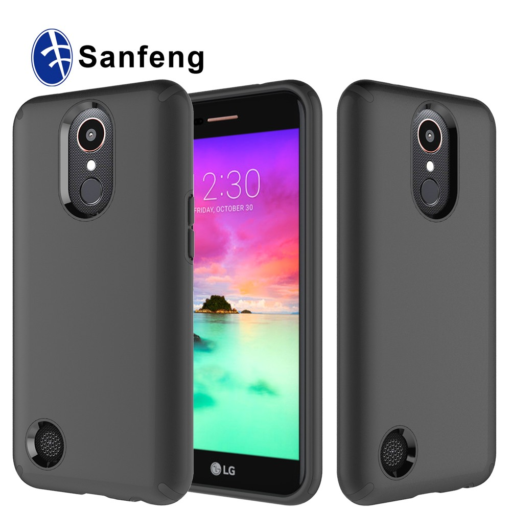 Matte Black Cell Phone Cover Case for LG K20 Plus,for LG K20 K10 2017 TPU Case Cover