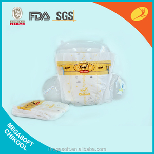 Disposable ODM & OEM baby diaper from Megasoft