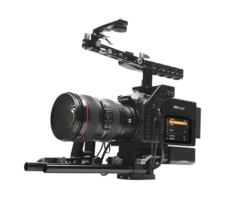 video stabilizer shoulder mount rig dslr for Panasonic GH5/GH4