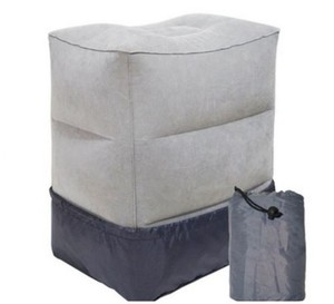 Big&small Valve Multiple Uses Airplane Sleeping Pillow Knee Cushion Foot Pillow to Elevate Legs in car