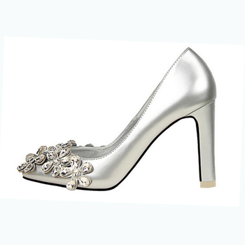 Summer Autumn Office Lady Party Shoes Women Chunky Heel Elegant Colorful Dress Shoe