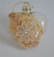 Clear glass ball christmas ornament ideas or as christmas gifts & crafts buying from christmas decoration wholesale