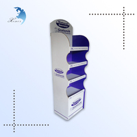 Can food Plastic display / PVC board display rack / retail store displays