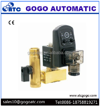 "G1/2"" NC 220v 2/2-way Direct-Acting Copper water solenoid valve timer"