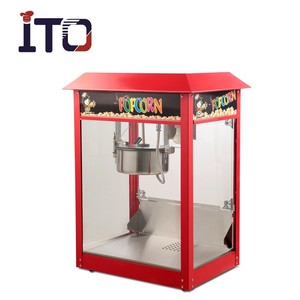 SI-1808 Hot Sale Table Counter Top Electric Commercial Popcorn Machine