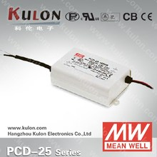MEAN WELL LED DRIVER PCD-25-1400 25w 1400ma magnetic power plug supply