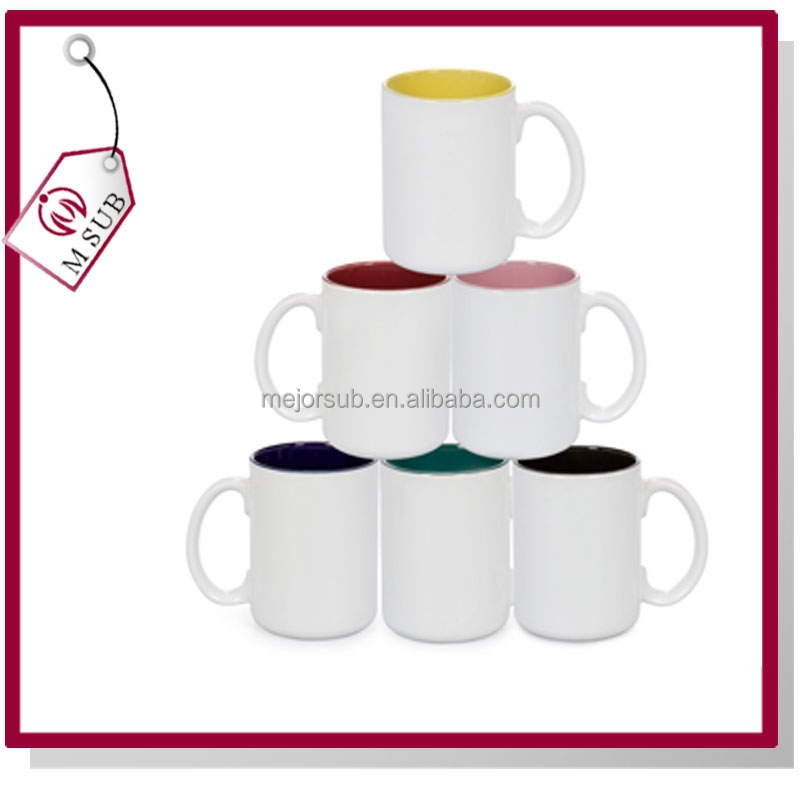 Hot sell! Best quality sublimation mugs wholesale 2 tone with your own picture design