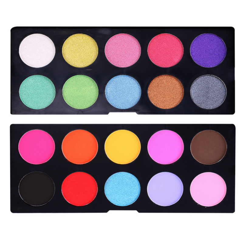 Permanent makeup factory price 20 colour bright eyeshadow cosmetics wholesale private label eyeshadow