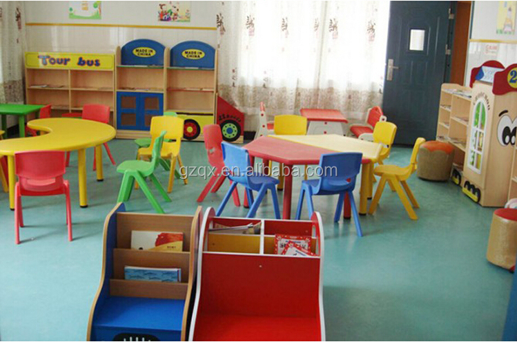 Factory Wholesale Price Discount Daycare Furniture,school Plastic Table And  Chair For Kids,table